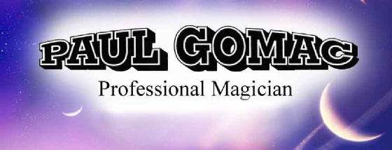 Paul Gomac Magician Childrens Magic Northern Ireland